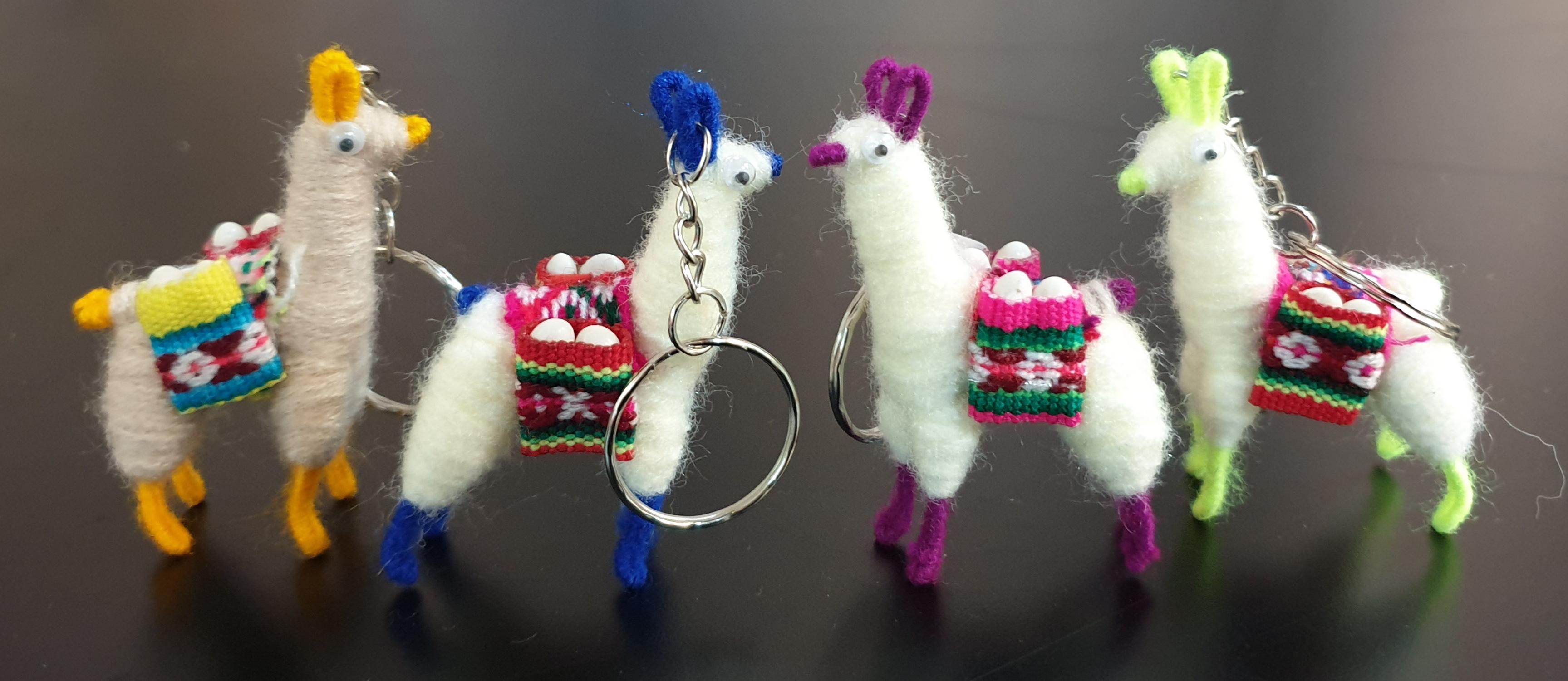 판매_페루_라마열쇠고리