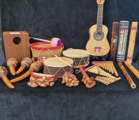 대여_페루_전통악기세트